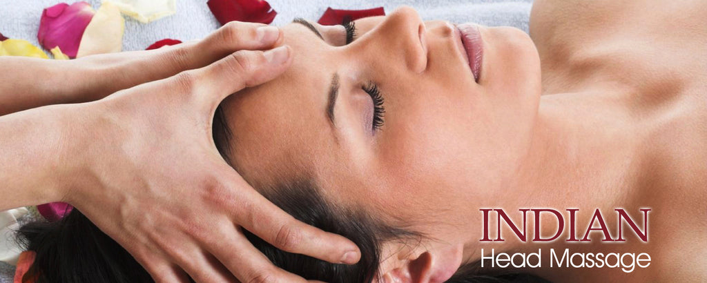 Relieve Tension with Indian Head Massage!