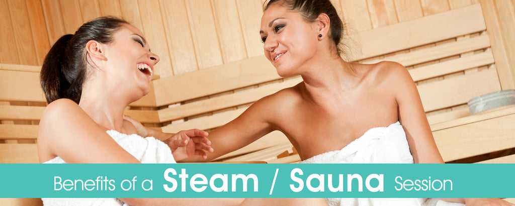 Benefits of a Steam/Sauna session