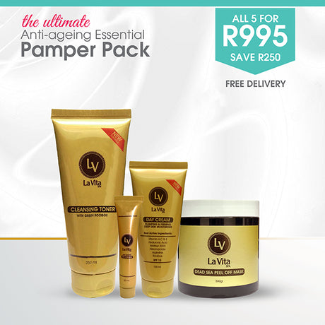 La Vita Anti-Aging Essential Pamper Pack