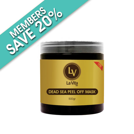La Vita Dead Sea Peel Off Mask