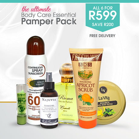 Body Care Essential Pamper Pack