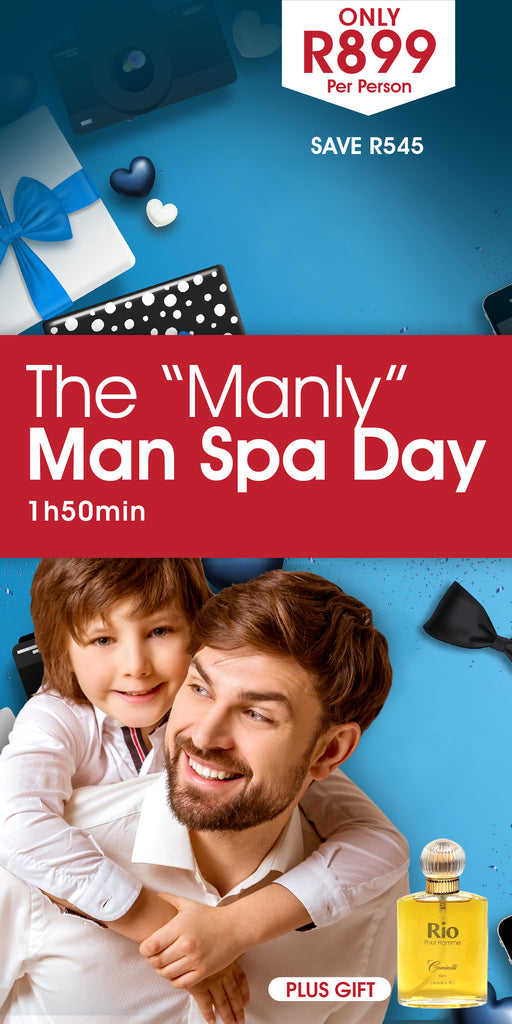 "The ""Manly"" Man Spa Day"