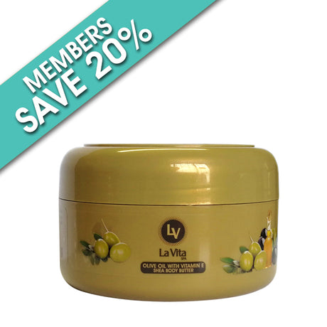 Olive Oil With Vitamin E Shea Body Butter