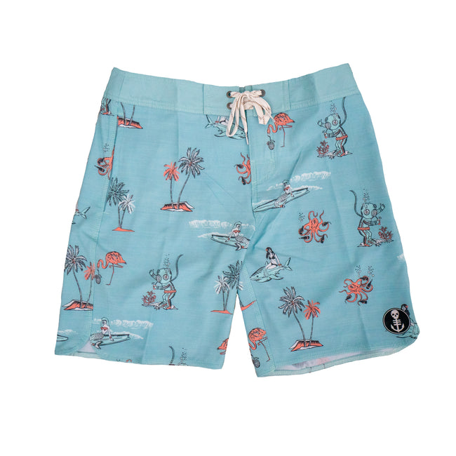 Boozin' Boardshorts - 4 Way Stretch