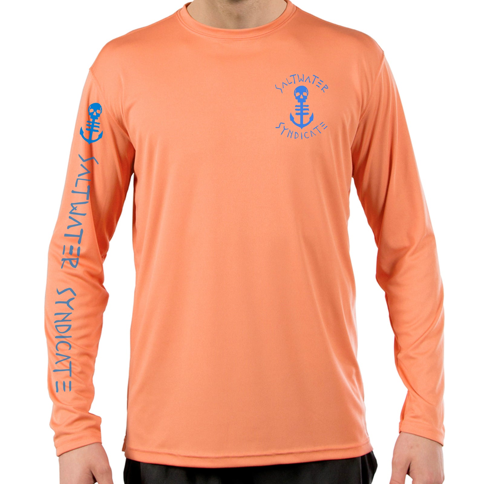 The Crest UPF Performance Long Sleeve - Citrus