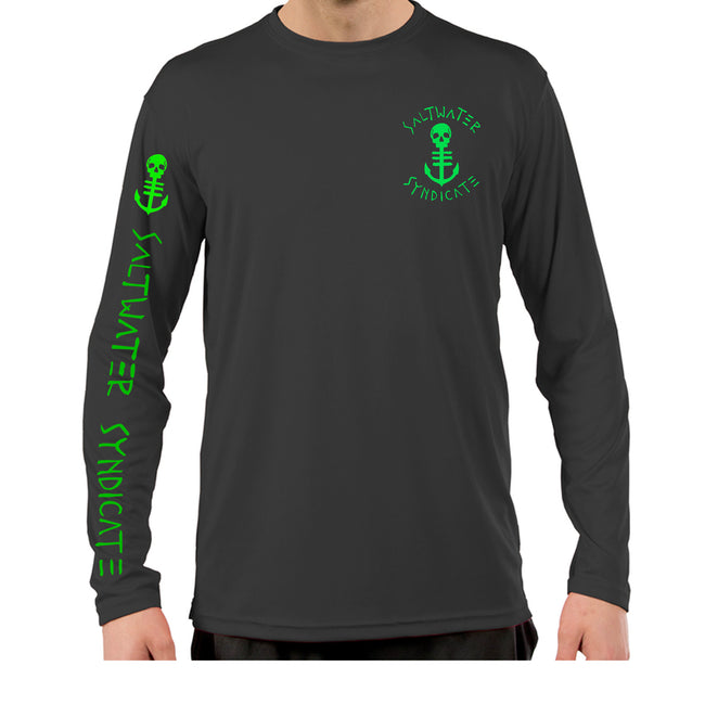 The Crest UPF Performance Long Sleeve - Charcoal