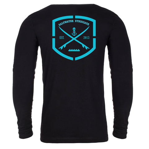 The Label Long Sleeve Cotton Tee