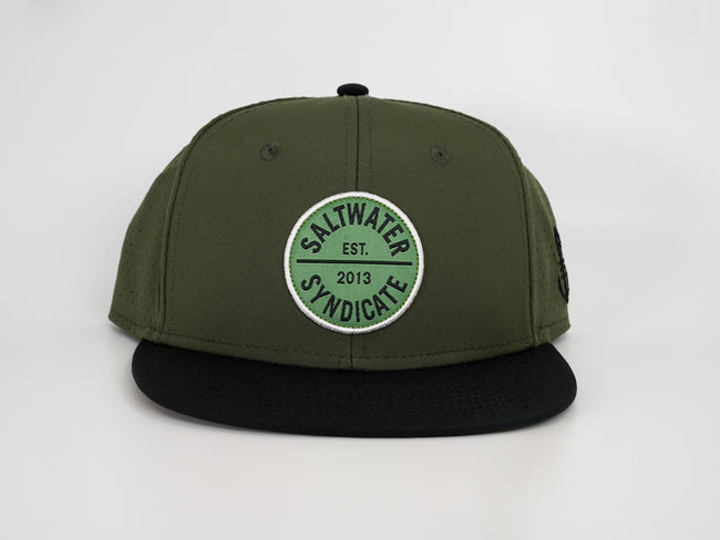 Circle Patch Synd-Tech Performance Hat - Green