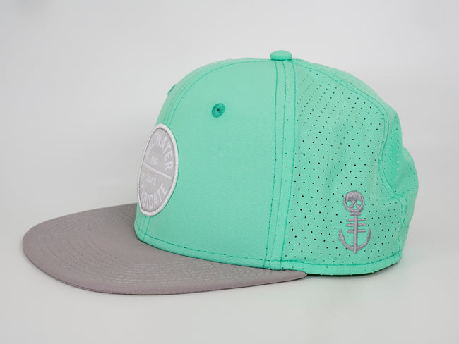 Circle Patch Synd-Tech Performance Hat - Mint
