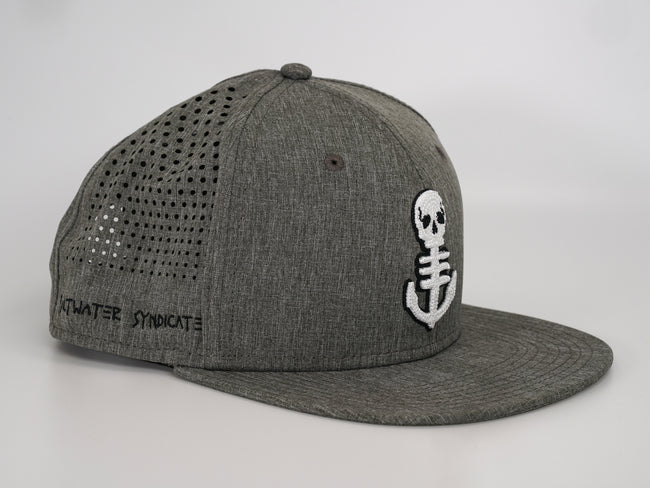 The Anchor Synd-Tech Performance Hat - Grey