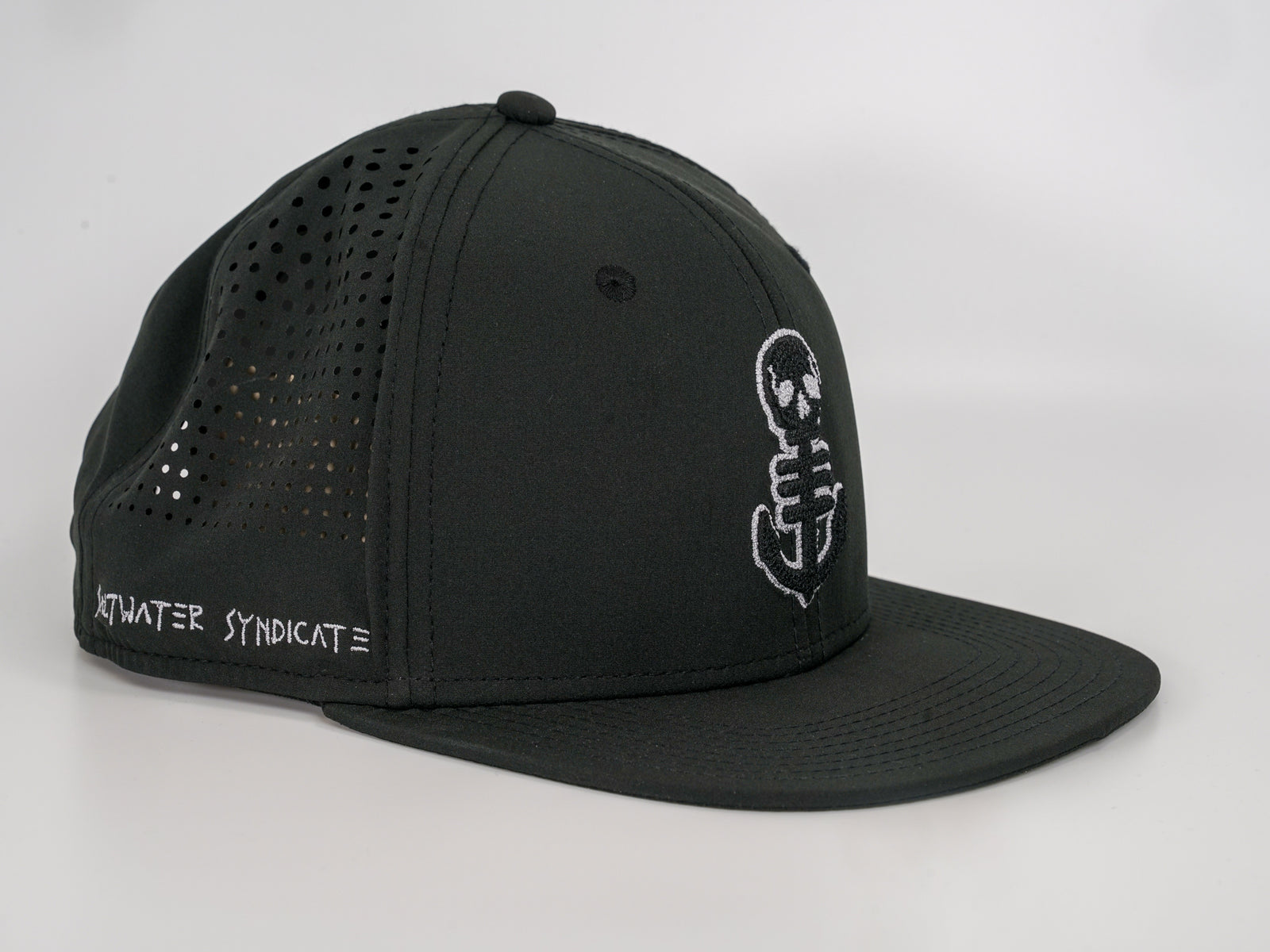 The Anchor Synd-Tech Performance Hat - Black