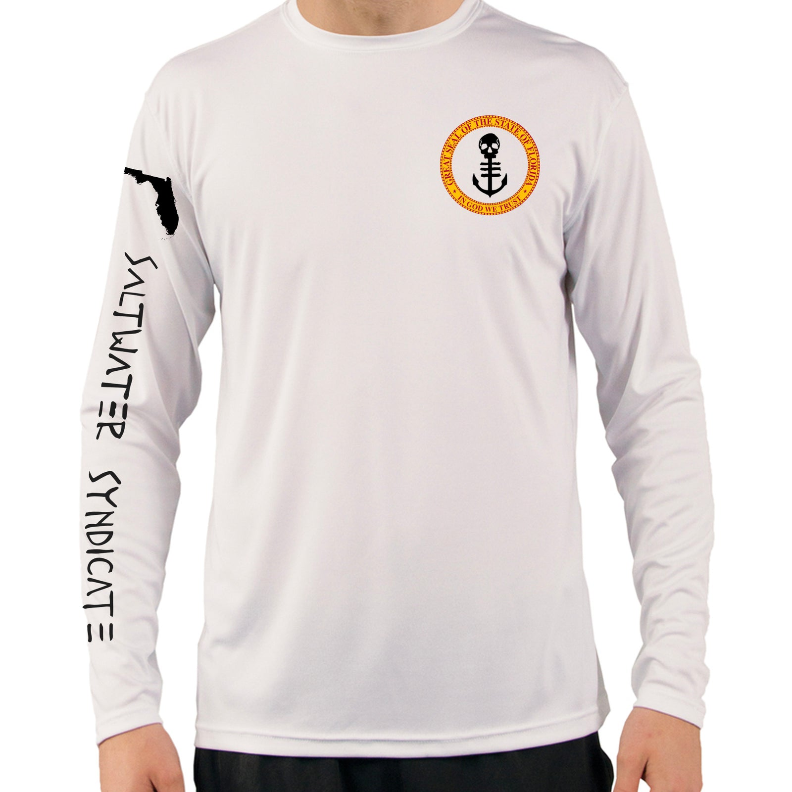 Floridian UPF Performance Long Sleeve - White