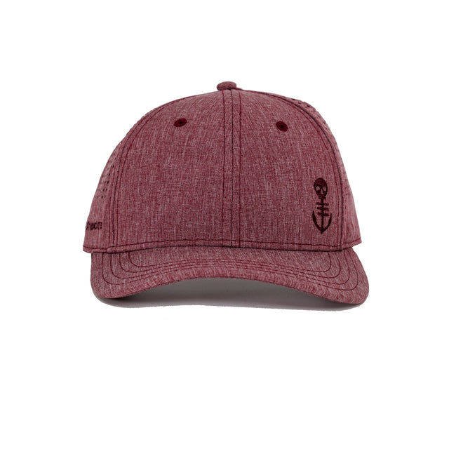 Low Key Tech Performance Hat - Maroon