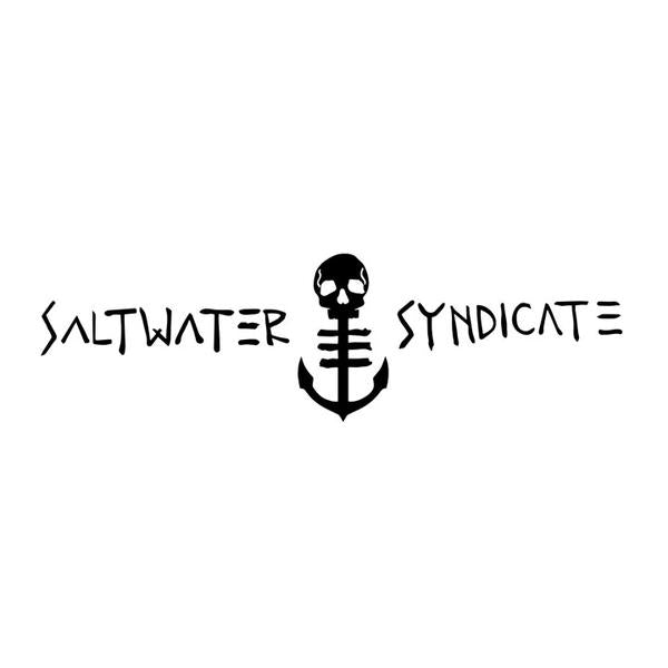 Saltwater Syndicate Decal - white