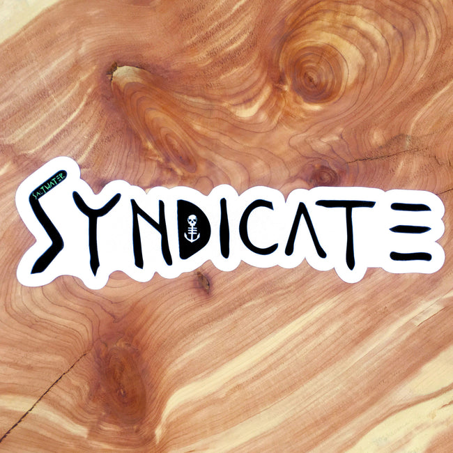 Syndicate Sticker - Saltwater Syndicate -