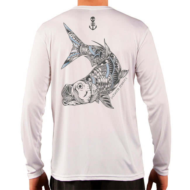 Tarpon UPF Performance Long Sleeve - White