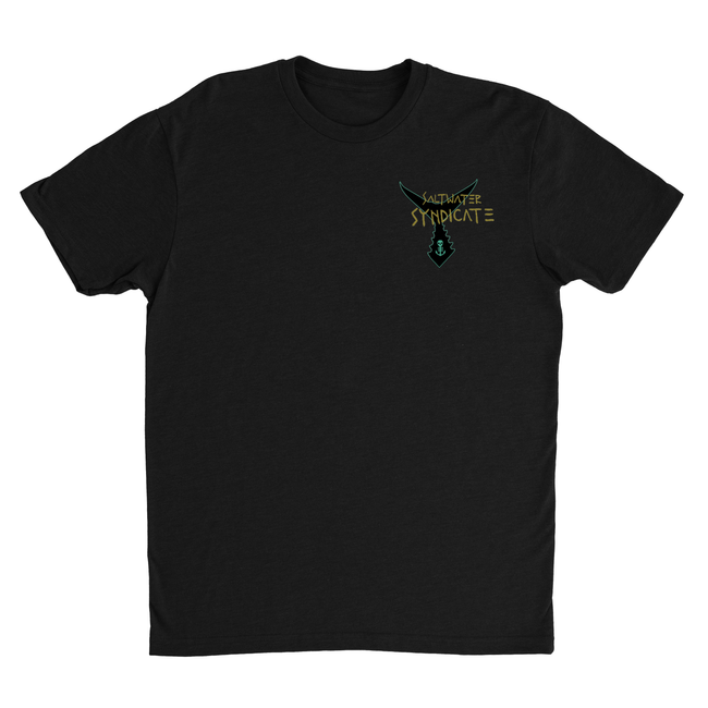 Cruisin' Tuna Tee- Black