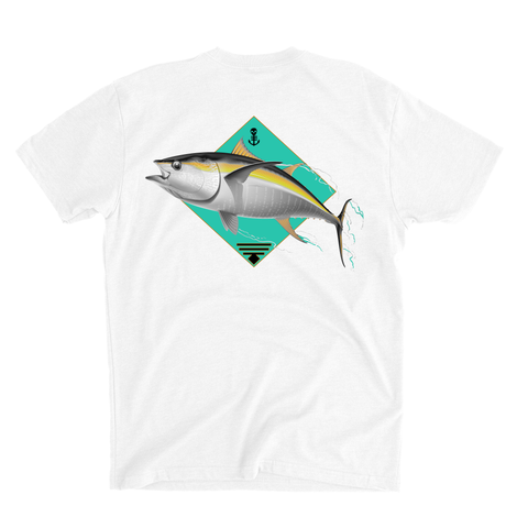 One Up One Down Freedive Tee - White