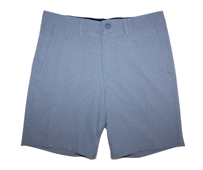 Front of Men's Blue Walk Shorts