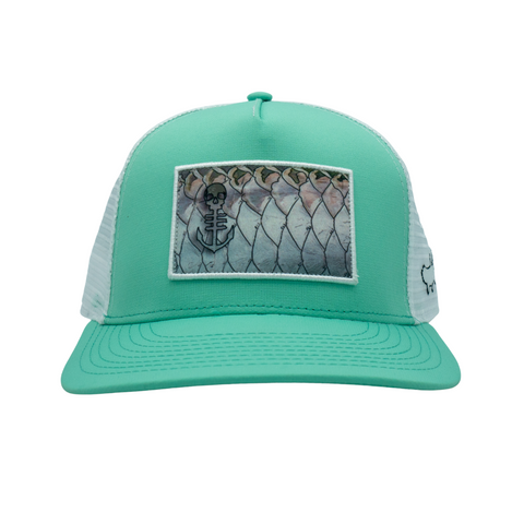 Tarpon Scales - Patch hat (2 colors)