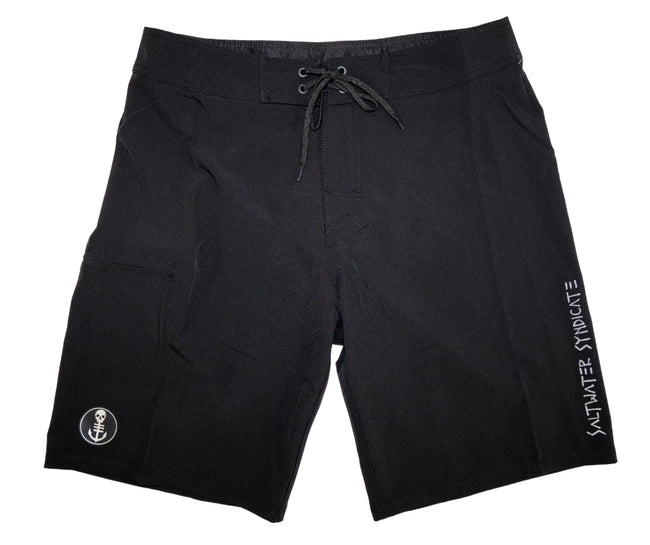 SYND-TECH Ultimate Performance Boardshorts Black - 4 Way Stretch