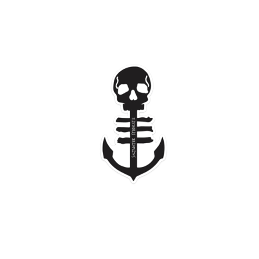 Anchor sticker rep our water sports accessories with pride saltwater syndicate