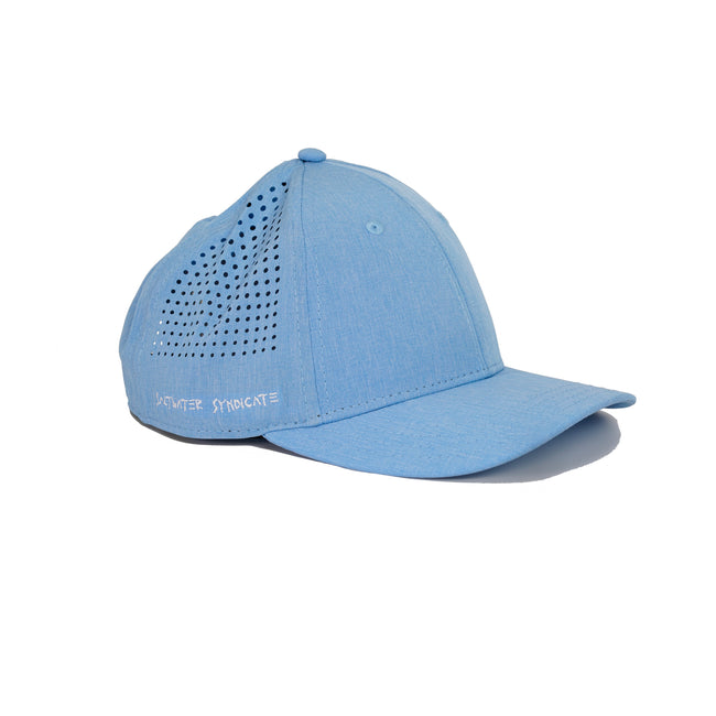 Low Key Tech Performance Hat - Light Blue