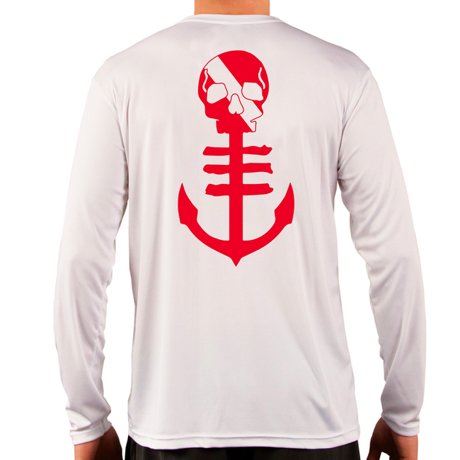Dive Anchor UPF Longsleeve Performance - White