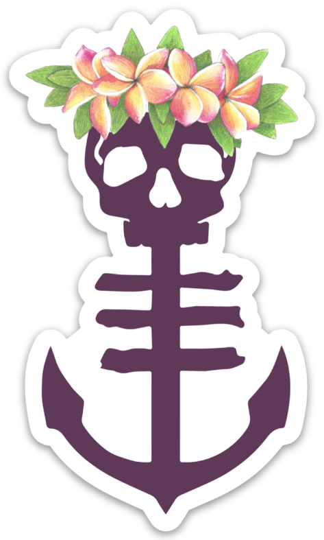 """Lei Me"" Sticker"