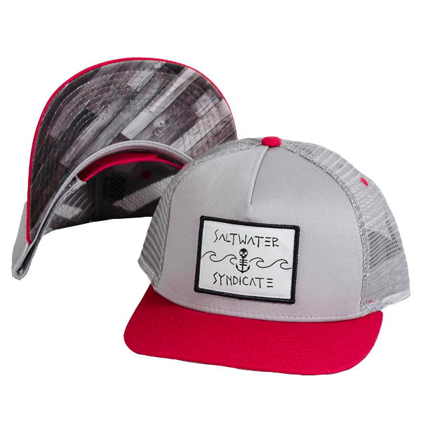 The Wave Trucker Hat - Grey