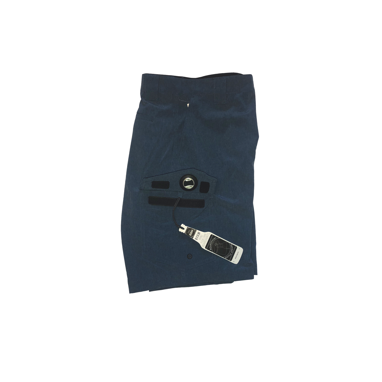 The Waterman - Navy Fishing Shorts