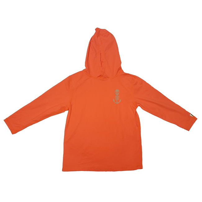Toddler UPF Hoodie - Orange