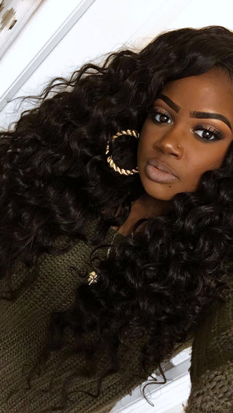 How To ➟ Big Fluffy Wand Curls| Kinky Straight Hair By @anicolec