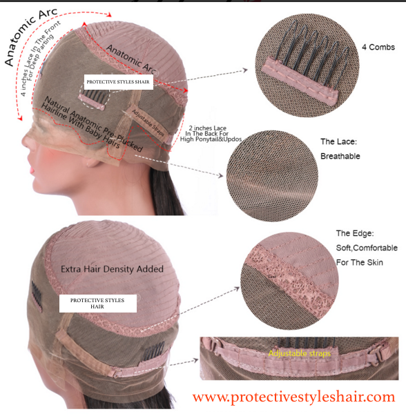 Kinky Coily 360 Lace Wig