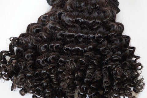Morocco Curly Frontal Lace Wig
