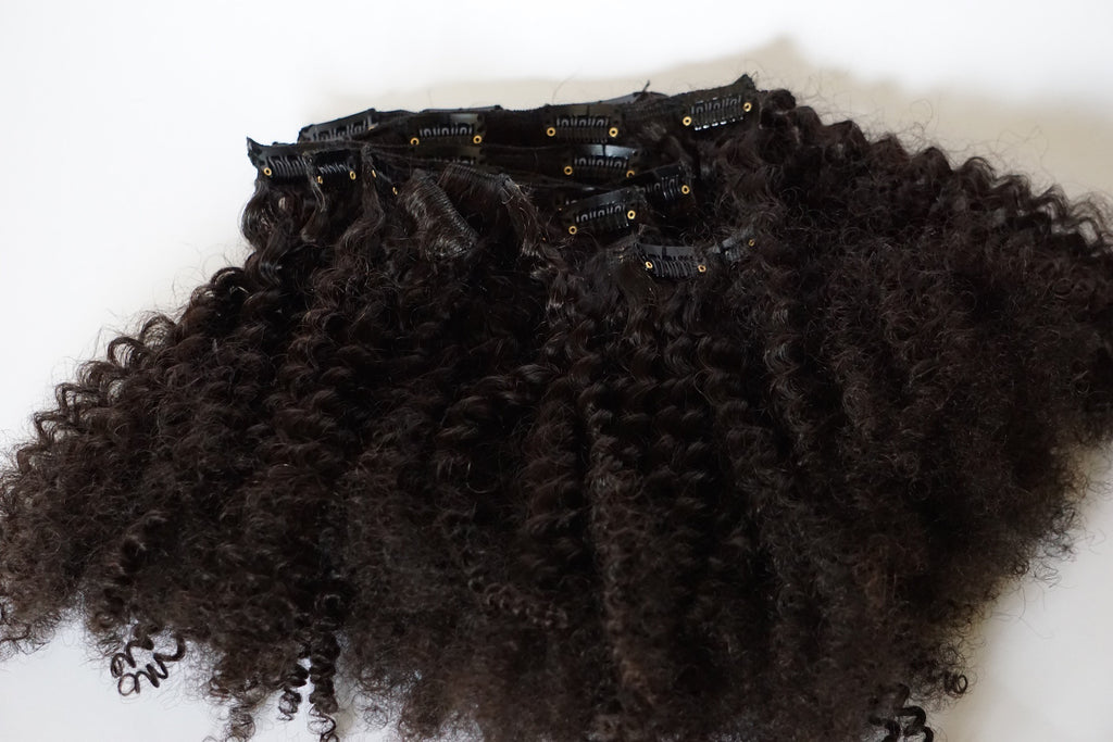 Afro Kinky Curly Clip-Ins