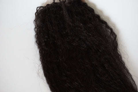 Kinky Straight Frontal Lace Wig
