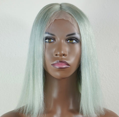 Unicorn Silver Gray Frontal Wig 13*6