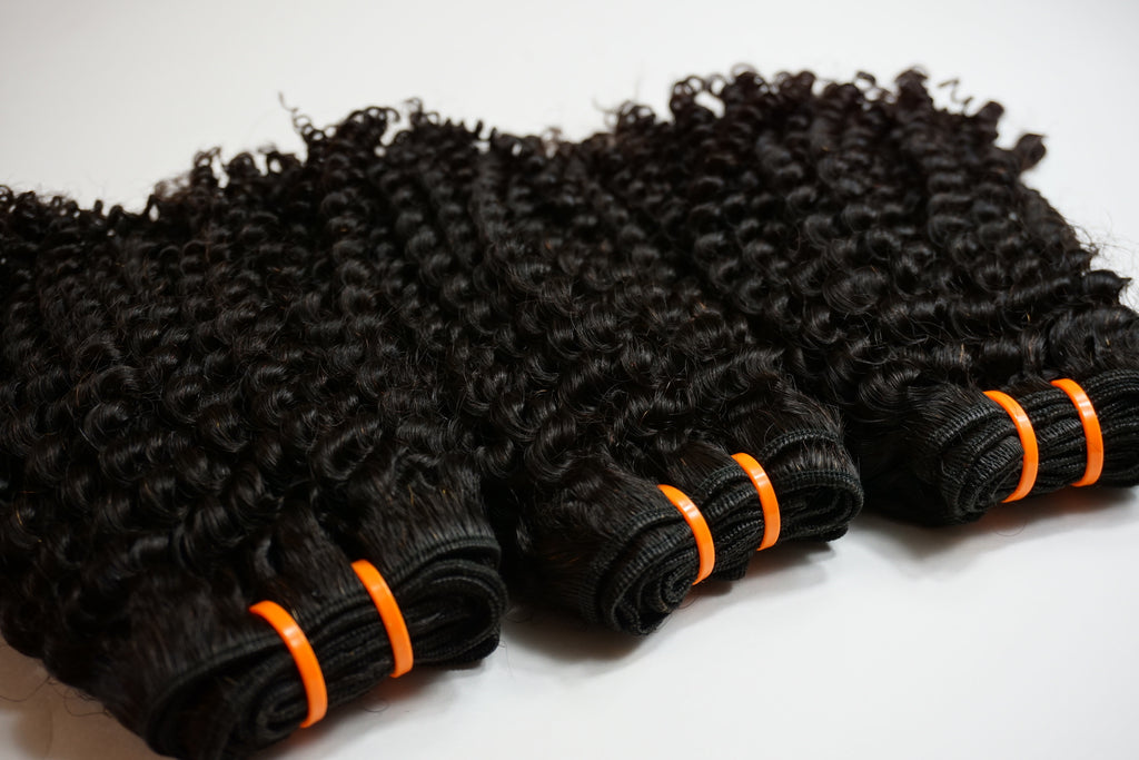 Kinky Curly Bundle Deal (Wefted)