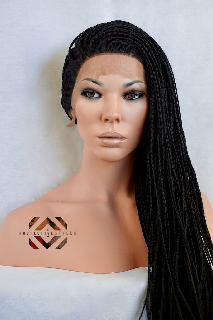 Braided Front Lace Wig