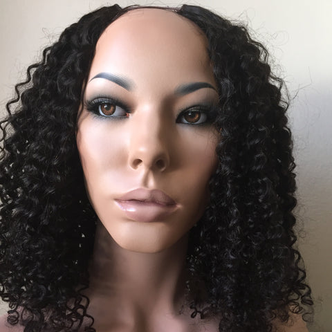 Kinky Curly Front Lace Wig
