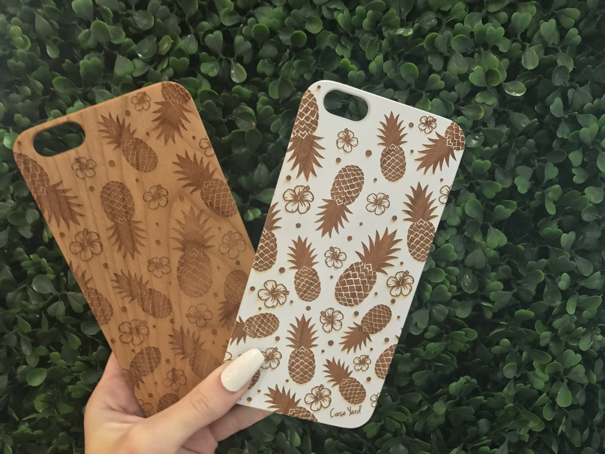Hawaiian Pineapple iPhone Case
