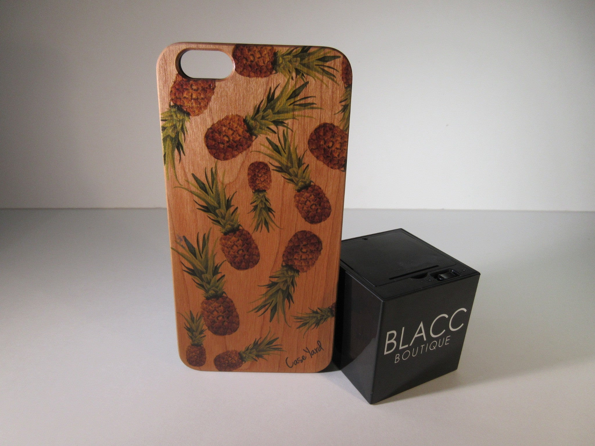 Colored Pineapple iPhone Case