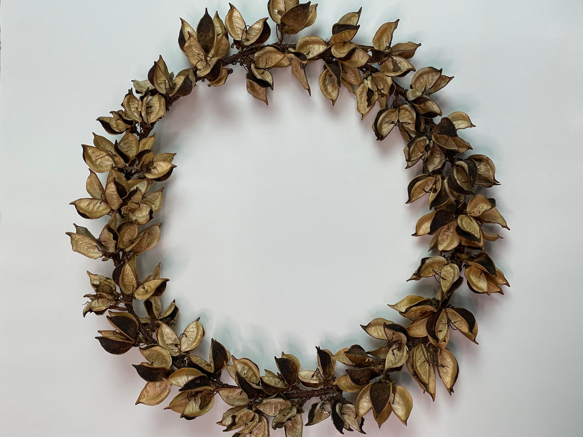 Cotton Husk Wreath
