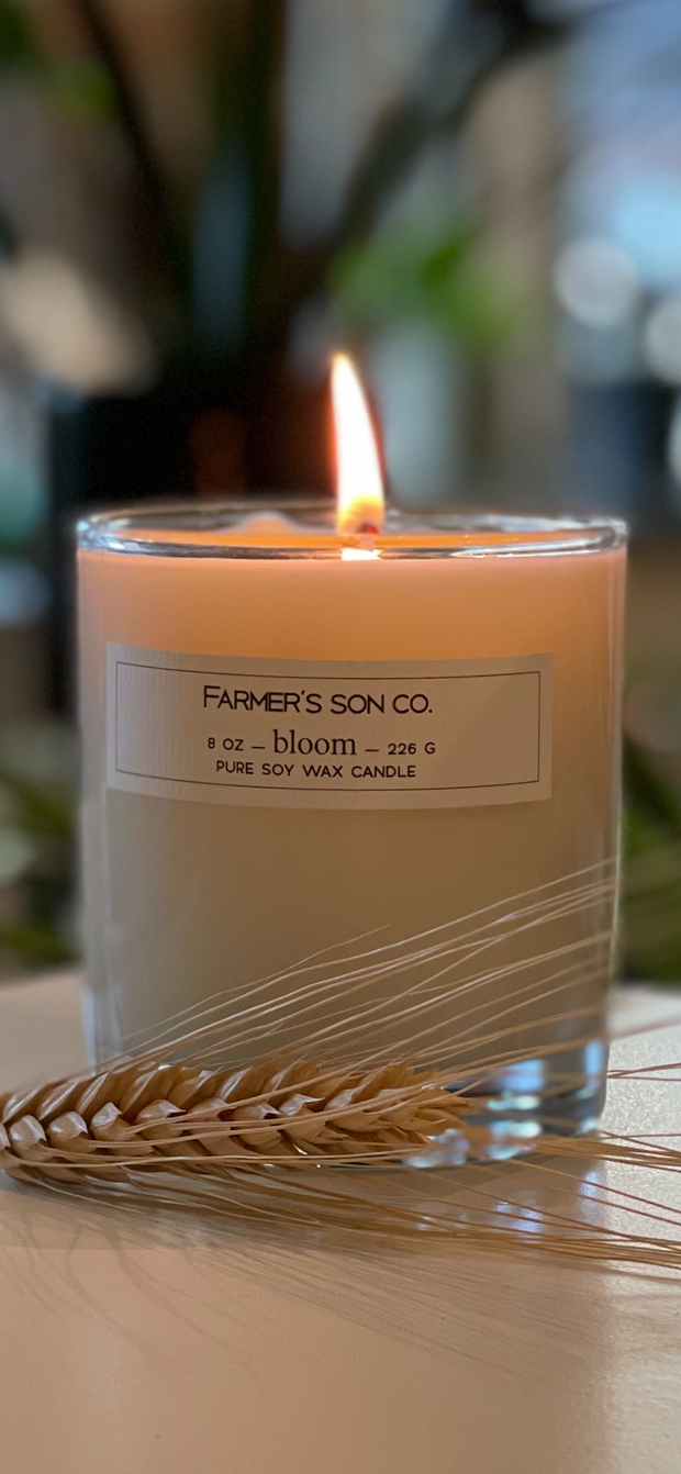 Farmer's Son Co.  Soy Candles