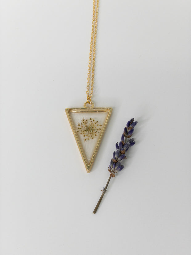 Florest Natural Design Pendant Necklaces
