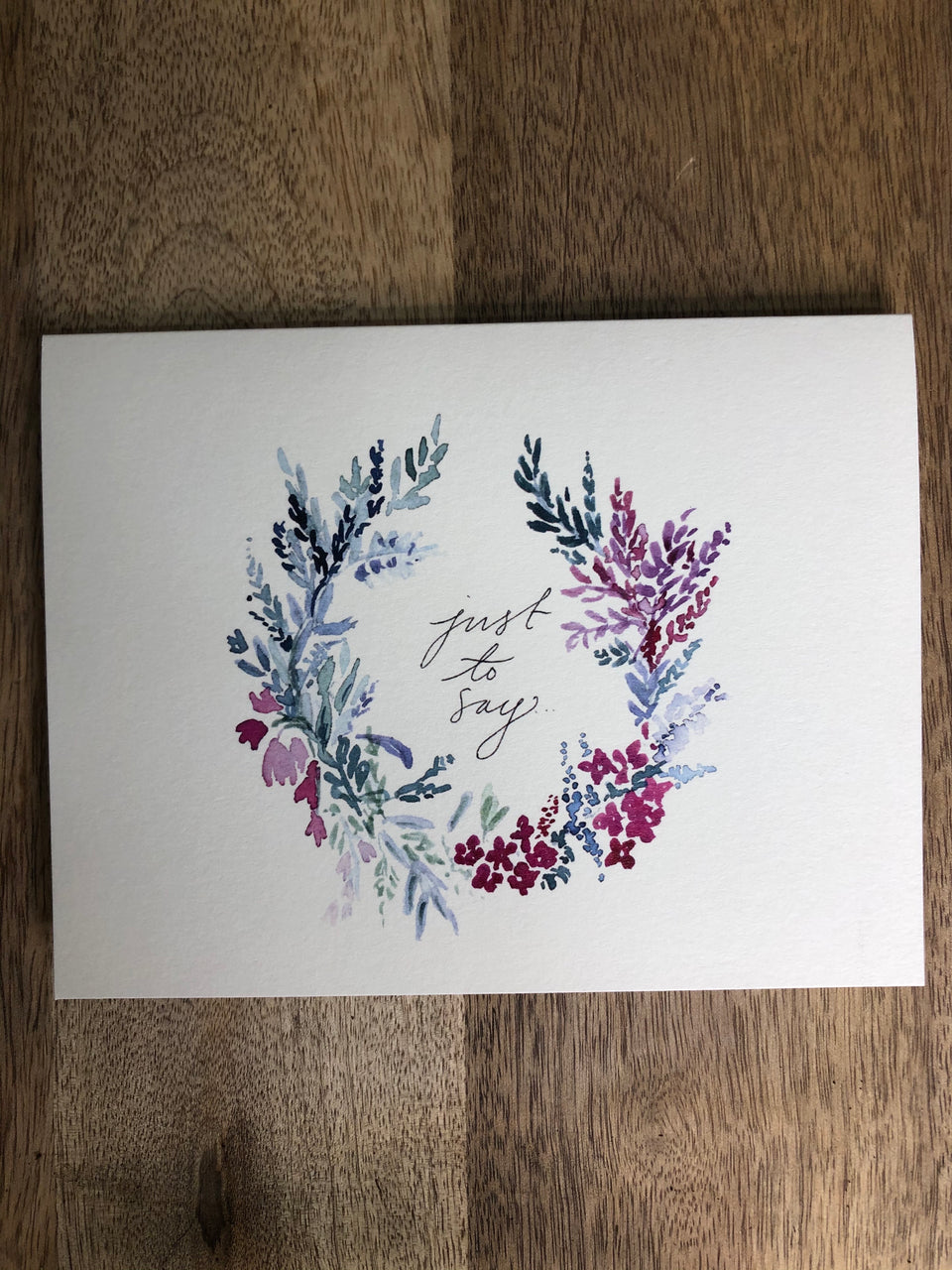 Inkwell Greeting Card Sympathy