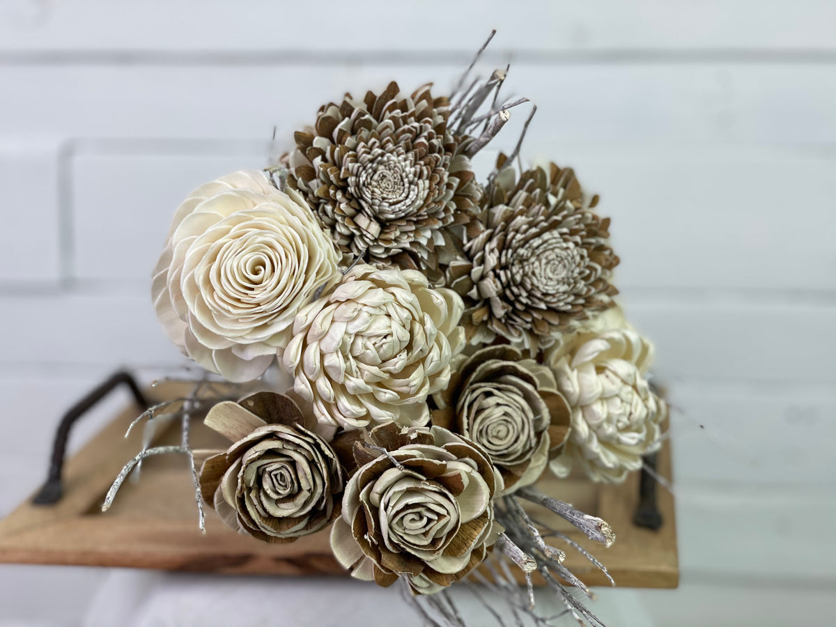 Faux Everlasting Bouquets