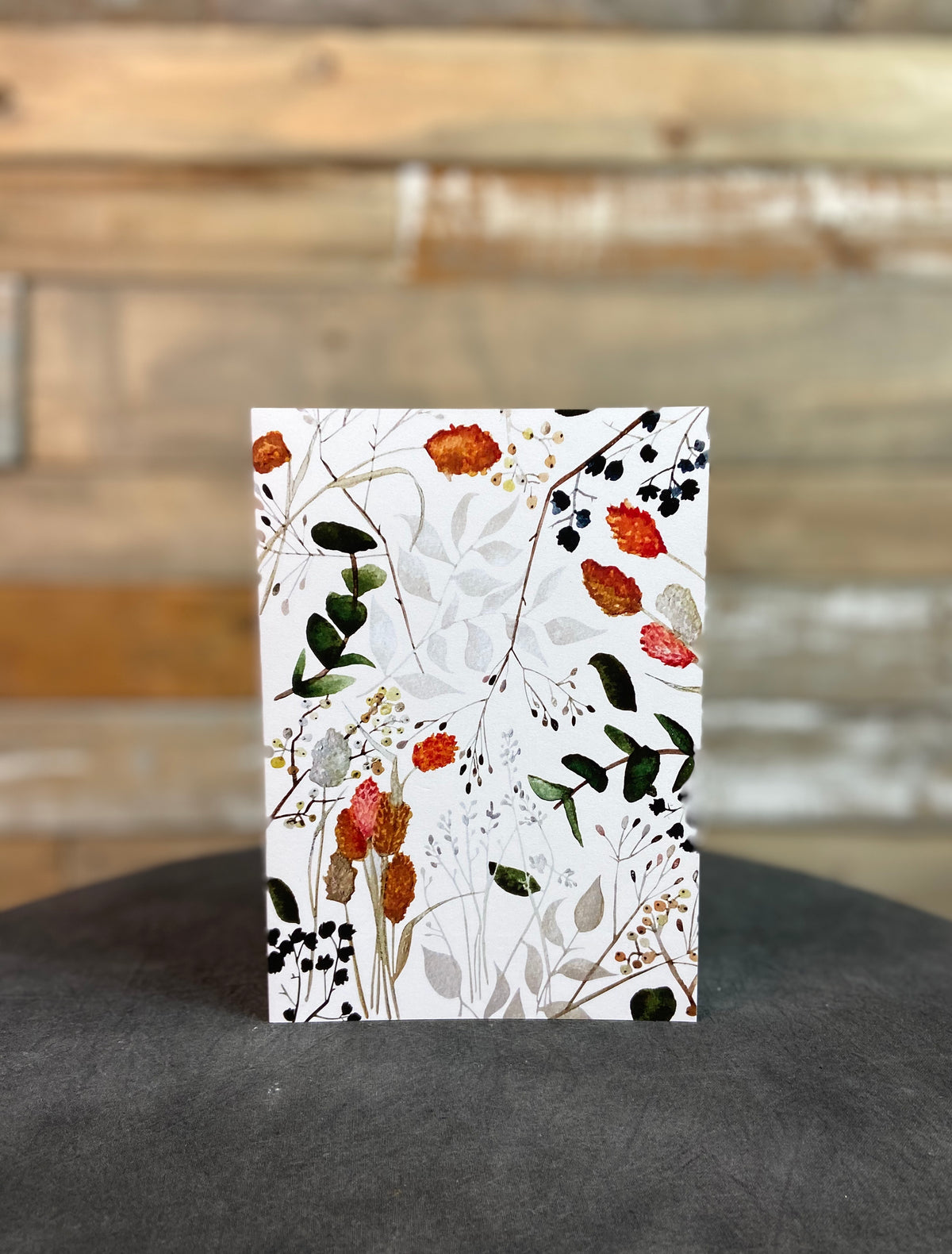 Dried Florals 5X7 Card