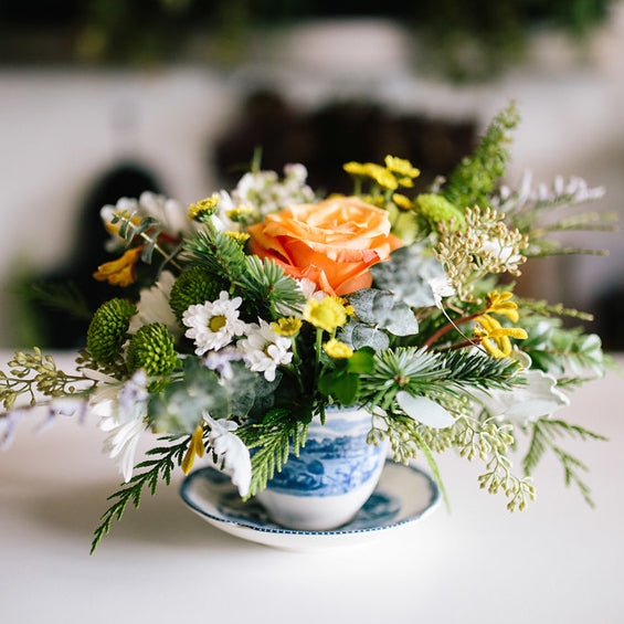 Teacup Arrangement